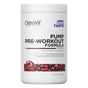 PUMP Pre-Workout Formula 500 g NEW FORMULA